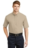 Short Sleeve Superpro Twill Shirt Stone Thumbnail
