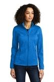 Women's Eddie Bauer StormRepel Soft Shell Jacket Brilliant Blue Heather with Grey Thumbnail