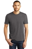 District Made Perfect Tri Crew Tee Heathered Charcoal Thumbnail