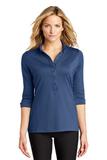 Women's OGIO Gauge Polo Blue Indigo Thumbnail