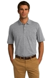 Jersey Knit Pocket Polo 5.5-ounce Athletic Heather Thumbnail