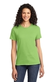 Women's Essential T-shirt Lime Thumbnail