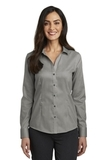 Women's Red House Pinpoint Oxford Non-Iron Shirt Charcoal Thumbnail