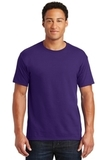 50/50 Cotton / Poly T-shirt Deep Purple Thumbnail