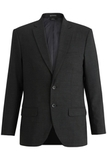Redwood & Ross Signature Men's Single Breasted Poly/wool Suit Coat Charcoal Thumbnail