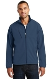 Textured Soft Shell Jacket Insignia Blue Thumbnail