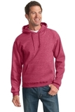 Pullover Hooded Sweatshirt Vintage Heather Red Thumbnail