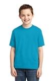 Youth 50/50 Cotton / Poly T-shirt California Blue Thumbnail