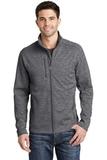 Digi Stripe Fleece Jacket Black Thumbnail