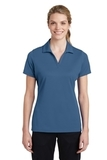 Women's Sport-Tek PosiCharge RacerMesh Polo Dawn Blue Thumbnail