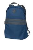 Nailhead Backpack Cambridge Blue with Smoke Grey Thumbnail