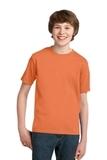 Youth Essential T-shirt Orange Sherbet Thumbnail