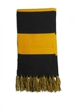 Spectator Scarf Black with Gold Thumbnail