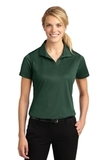 Women's Micropique Moisture Wicking Polo Shirt Forest Green Thumbnail