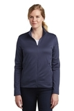 Women's Nike Golf Therma-FIT Full-Zip Fleece Midnight Navy Thumbnail