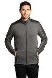 Grid Fleece Jacket Grey Smoke Heather with Grey Smoke Thumbnail