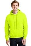 Heavyblend Hooded Sweatshirt Safety Green Thumbnail