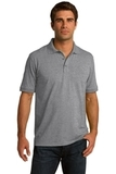 Port Company Tall 5.5-ounce Jersey Knit Polo Athletic Heather Thumbnail