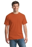 Heavy Cotton 100 Cotton T-shirt Antique Orange Thumbnail