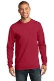 Essential Long Sleeve T-shirt Red Thumbnail