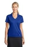 Women's Nike Golf Dri-FIT Vertical Mesh Polo Old Royal Thumbnail