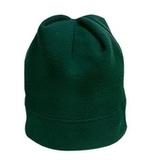 Stretch Fleece Beanie Dark Green Thumbnail