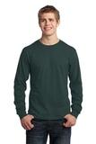 Long Sleeve 5.4-oz. 100 Cotton T-shirt Dark Green Thumbnail
