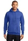 7.8-oz Pullover Hooded Sweatshirt Heather Royal Thumbnail