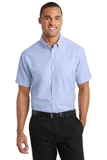 Short Sleeve Superpro Oxford Shirt Oxford Blue Thumbnail