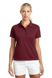 Women's Nike Golf Shirt Tech Basic Dri-FIT Polo Team Red Thumbnail