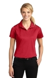 Women's Micropique Moisture Wicking Polo Shirt True Red Thumbnail