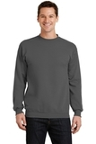 7.8-oz Crewneck Sweatshirt Charcoal Thumbnail