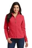 Women's Value Fleece Jacket Hibiscus Thumbnail