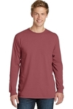 PigmentDyed Long Sleeve Tee Red Rock Thumbnail