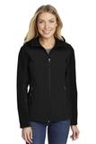 Women's Hooded Core Soft Shell Jacket Black Thumbnail