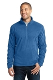 Microfleece 1/2-zip Pullover Light Royal Thumbnail