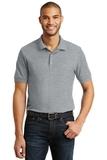 6.5-Ounce 100 Double Pique Cotton Sport Shirt Sport Grey Thumbnail