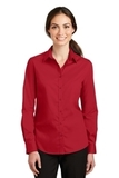 Women's SuperPro Twill Shirt Rich Red Thumbnail