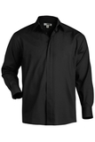 Men's Cafe Shirt Black Thumbnail