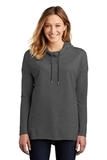 Women's Featherweight French Terry Hoodie Washed Coal Thumbnail