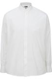 Men's Banded Collar Shirt White Thumbnail