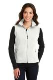 Women's Value Fleece Vest Winter White Thumbnail