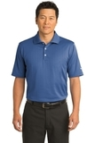 Nike Golf Shirt Dri-FIT Textured Polo Mountain Blue Thumbnail