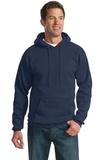 Pullover Hooded Sweatshirt Navy Thumbnail