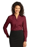 Women's Crosshatch Easy Care Shirt Red Oxide Thumbnail