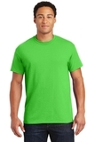 Ultra Blend 50/50 Cotton / Poly T-shirt Electric Green Thumbnail