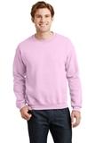 Heavy Blend Crewneck Sweatshirt Light Pink Thumbnail