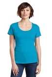Women's Made Perfect Weight Scoop Tee Bright Turquoise Thumbnail