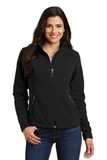 Women's Value Fleece Jacket Black Thumbnail