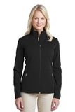 Women's Pique Fleece Jacket Black Thumbnail